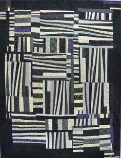 Wedgewise quilt by Karla Alexander. Learn it at Quiltaway, sponsored by the San Francisco Quilters Guild, Feb. 24–28, 2016.  Visit www.sfquiltersguild.org