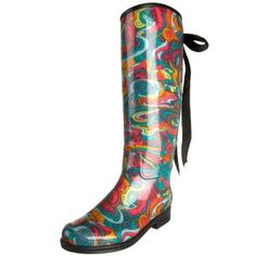 Funky Rain Boots | These Funky Festival Boots are from Eshoe ...