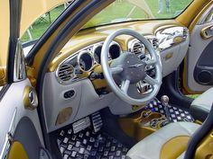 snazzy PT Cruiser interior mods