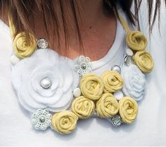 Bib necklace DIY