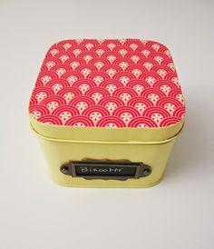 DIY: como transformar una vieja lata de gasas en una caja de galletas