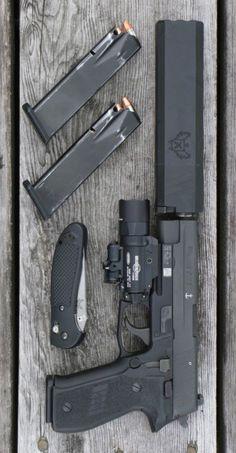 SIG SAUER - P226 MK25 4.4IN 9MM HANDGUN SEMI AUTO PISTOL FIREARM BLACK POLYMER SIGLITE NIGHT SIGHTS 15 1RD