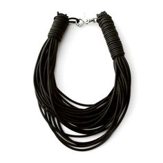 Rubber Strand Necklace