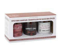 Mini Spicy BBQ Sauce Set