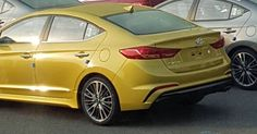 New 2017 Hyundai Elantra Sport With At Least 200HP Spied Undisguised