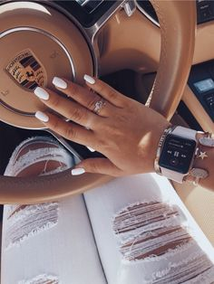 VSCO - Create, discover, and connect Summer Acrylic Nails, Best Acrylic Nails, Summer Nails, Acylic Nails, Nail Jewelry, Jewellery, Nagel Gel, Dream Nails, Nail Inspo