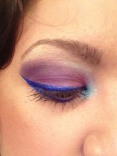 Purplelicious makeup by me