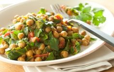 Indian Spiced Garbanzos and Greens | Whole Foods Market