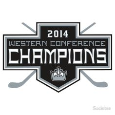 LA Kings: 2014 Western Conference Champions! Next Stop: The Stanley Cup Finals!
