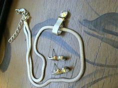 Vintage Premier Swarovski Crytal Silver Necklace by SandsofHaifa