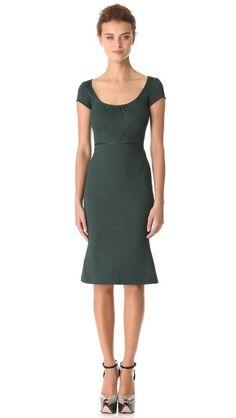 Zac Posen Bondage Jersey Dress