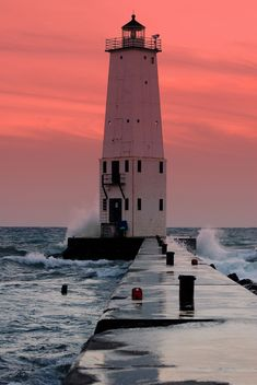Lighthouse in Frankfort