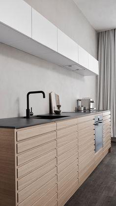 Industrial Kitchen Design, Kitchen Pantry Design, Small Kitchen Cabinets, Cozy Kitchen, Modern Kitchen Design, Kitchen Decorating, Teal Kitchen Decor, Farmhouse Kitchen Decor, Kitchenette