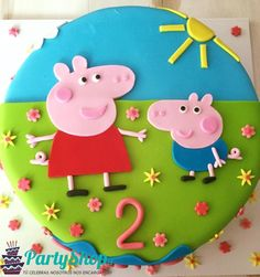 - Peppa Pig is often a United kingdom preschool cartoon telly series instructed as well Tortas Peppa Pig, Peppa Pig Cakes, Birthday Dinners, Birthday Parties, Chocolate Bar Card, Peppa Pig Birthday Cake, Pig Party, Wilton Cakes, Cake Decorating Techniques