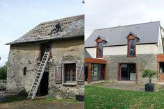 La rénovation de façade et de toiture ont totalement redonné une seconde vie à la maison !