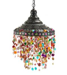 I LOVE this hanging lamp!