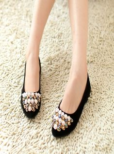 Happy/& Shopping Womens 2014 Spring and Summer Flat Heel Shoes Casual Comfort Flats for Women Blue Pink Color
