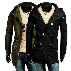 Slim Fit Hooded Field Jacket http://www.sneakoutfitters.com/Fall-2013-Collection/Slim-Fit-Hooded-Field-Jacket-p4207.html