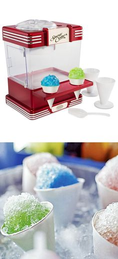 Retro Snowcone Maker - NEED