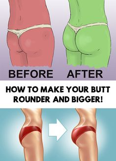 Do you dream of round and big butt that will attract tons of attention at the beach this summer? How To Make Your Butt Rounder And Bigger!