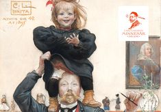 One hundred years ago, Carl Larsson died in his etching studio in Falun, but his artistic legacy lives on. Carl Larsson was a true influencer, continually modern. To note the centenary of his death, the cultural institutions of Falun… Carl Larsson, One Hundred Years, Street Art, Death, Culture, Memories, Studio, Artist, Painting