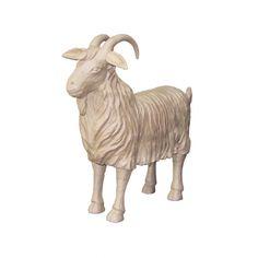 Grande chèvre - papier mâché - 91 cm