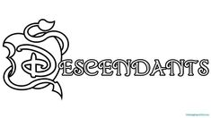 Descendants 2 Uma Coloring Pages Awesome Descendants Gets New Poster & Promo Descendants Printable Free Coloring Books Monster Coloring Pages, Online Coloring Pages, Flower Coloring Pages, Coloring Pages To Print, Free Printable Coloring Pages, Adult Coloring Pages, Coloring Pages For Kids, Coloring Books, Free Coloring
