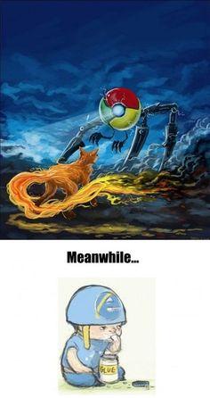 Browser Wars in a nutshell - Imgur