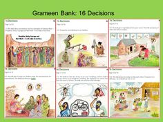 grameen bank 16 decisions - Google Search Education And Development, Unity, How To Plan, Comics, Google Search, Cartoons, Comic, Comics And Cartoons, Comic Books