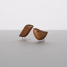 Jacob Hermann wooden birds.