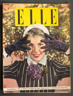 'ELLE' FRENCH VINTAGE MAGAZINE 19 DECEMBER 1949 | eBay