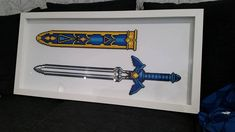 Legend of Zelda: Master Sword and holster by Sborgana