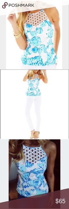 Lilly Pulitzer Janice Top Adorable Janice top! Lilly Pulitzer Tops Tank Tops