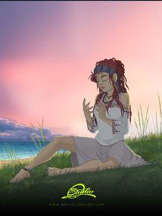 Beach & grass girl Beach Grass, Paz Interior, Artwork, Anime, Fictional Characters, Work Of Art, Anime Shows, Anime Music, Anima And Animus