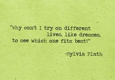 Eternally Hopeful (Search results for: sylvia plath)