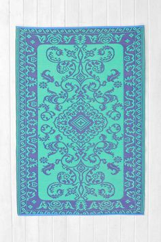Floral Indoor/Outdoor Rug | Urban Outfitters