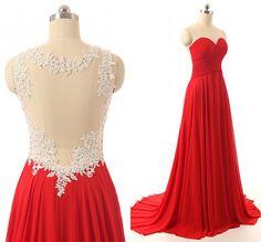 Red bridesmaid dress,Long bridesmaid dress,Backless bridesmaid dress,cheap prom dress,BD415