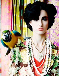 Parrot fashion editorial ♥