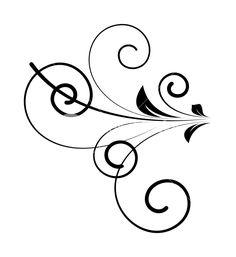 Retro Swirl Shape