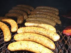 My smoked boudin recipe is as simple as placing your links of boudin right on the grate while you are smoking other things such as ribs, turkey legs, etc.