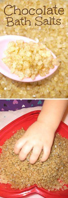 Choocolate Bath Salts|DIY Bath Salts.