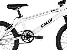 Bicicleta Caloi Cross - Aro 20 Freios V-Brake Quadro em Alumínio