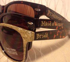 We even have tortoise shell customizable, glitterable wayfarer sunglasses