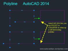 AutoCAD/LT 2014 Self Intersecting Polylines