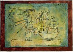 Paul Klee - Distillation of Pears, 1921