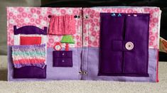 When I found out I was having a little girl, I knew that I HAD to make her a dollhouse quiet book. Making a dollhouse quiet book was quite different from making activity-style quiet books like I ha…