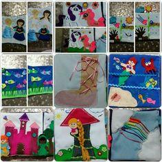 Visitanos en www.dosmanitas.com.mx  Facebook DosManitasLosCabos   Libro de tela / quiet book