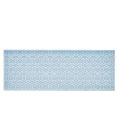 Information about Attingham™ Powder Blue Geometric Decor Tile Geometric Tiles, Geometric Designs, Geometric Decor, Brick Effect Tiles, Disabled Bathroom, Topps Tiles, 70s Decor, Cottage Renovation, Old Bathrooms