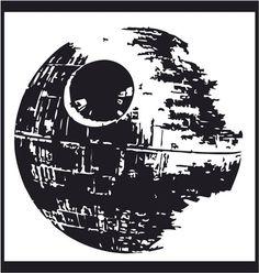 Star Wars Death Star Decal  Car Decal  Wall by 86LevelStDesign