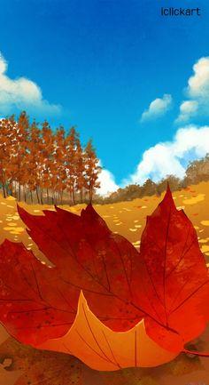 #fall #season #image #illustration #iclickart #npine #감성이미지 #가을 #낙엽 #단풍 #엔파인 #아이클릭아트